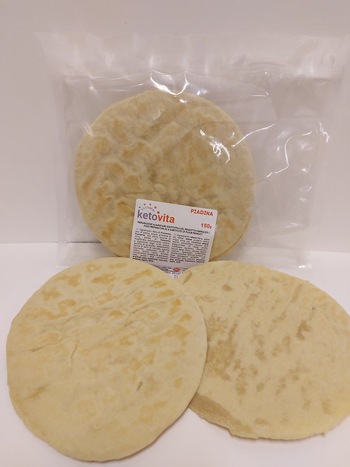 KETO VITA PIADA - N. 2 PIADINA - WRAP   1:2 ratio (100gr fills as 200gr)