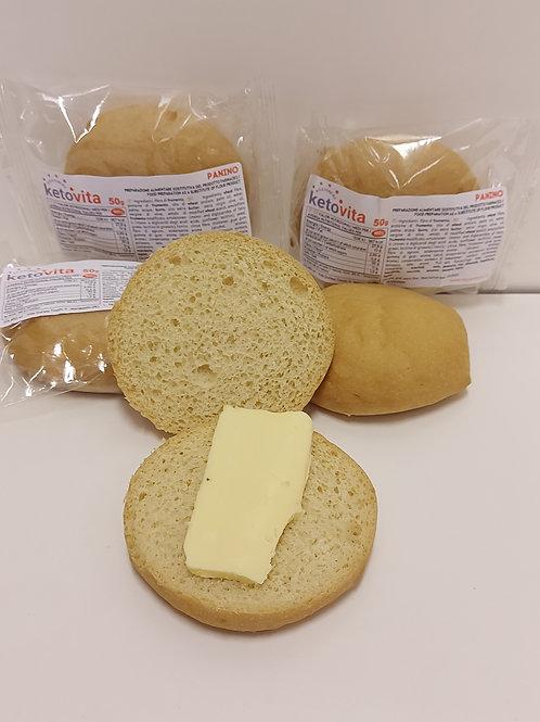 KETO VITA BREAD/PANINO    4 X 50 gr pieces     1:2 ratio (100gr fills as 200gr)