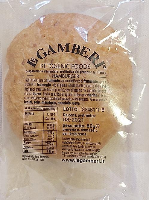 Le Gamberi Keto HAMBURGER broodje 60gr