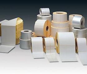 Etichette Neutre in carta termica, vellum, patinata, in bobina