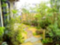 雑木の緑が美しい和モダンの庭 <松戸市 S様邸>