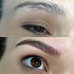 Brows mapped and measured ✔️ Brows sculp