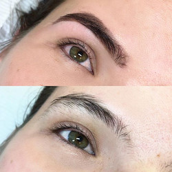 The power of a brow sculpt and henna des
