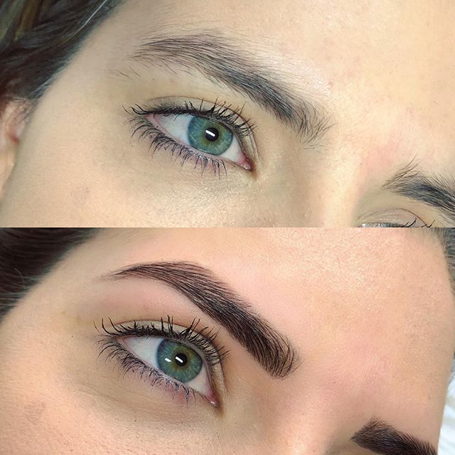 The precision of a full brow sculpt and