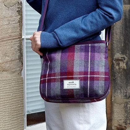 Glen Tweed Rosy Bag