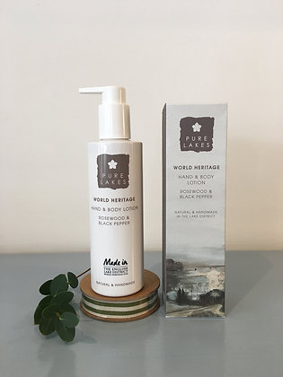 Rosewood & Black Pepper Hand & Body Lotion