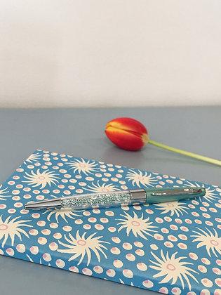 Green Stardust Crystal Ballpoint Pen