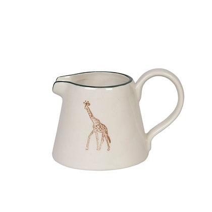 Giraffe Mini Stoneware Jug