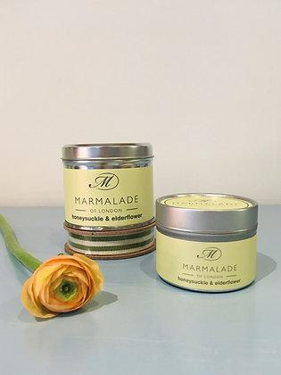 Honeysuckle & Elderflower Medium Candle Tin