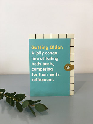 Getting Older