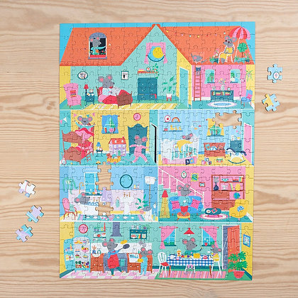Mouse In A House 300pc Puzzle
