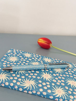 Blue Crystal Ballpoint Pen