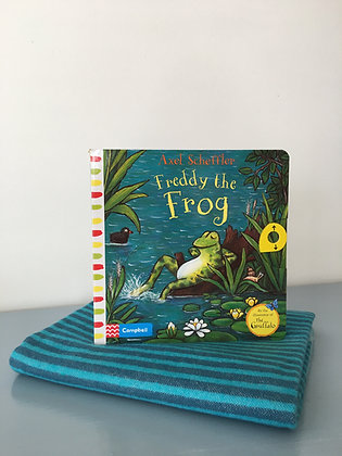 Freddy the Frog: A Push, Pull, Slide Book