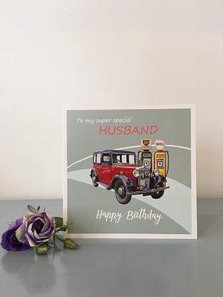 Super Special Husband – Birthday