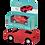 Thumbnail: Red Pull Back Super Car Eraser