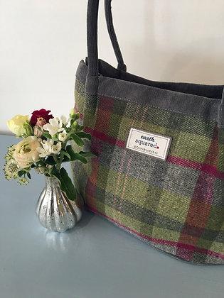 Stone Moss Tweed Freya Bag