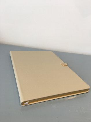 Grey & Gold A4 Notebook