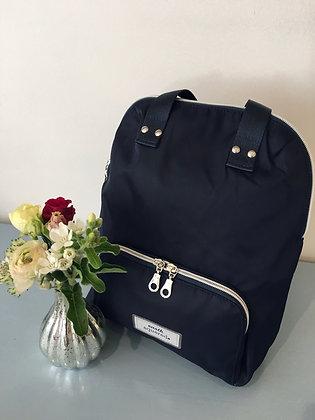 Navy Voyage Mini Backpack