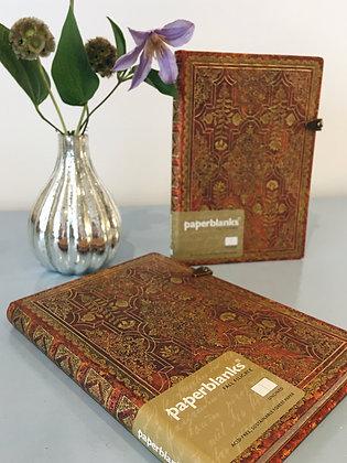 Golden Fail Filigree Notebook