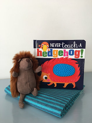Never Touch A Hedgehog Touch and Feel Board Book