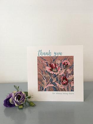 Pastel Poppies – Thank You