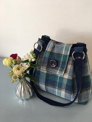 Cloudburst Tweed Ava Bag