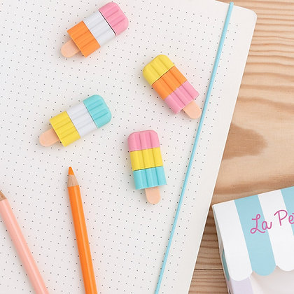 Ice Lolly Erasers