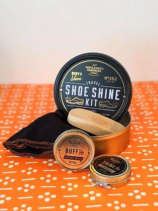 Travel Shoe Shine Kit