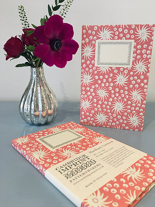 Hardback Notebook Milky Way Pink and Old Red