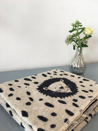 Monochrome Safari Blanket