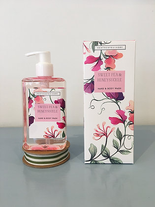 Sweet Pea & Honeysuckle Hand & Body Wash