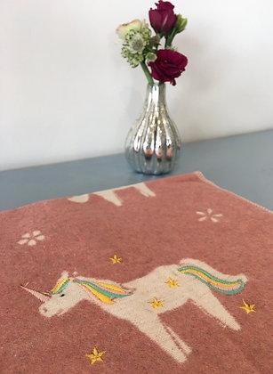 Pink Unicorn Blanket