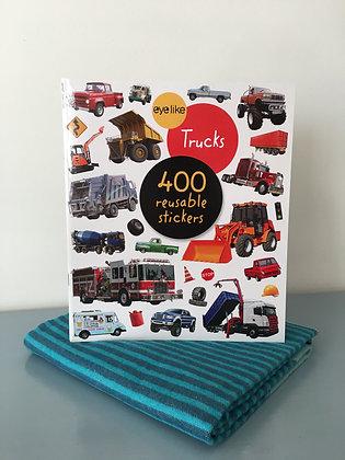 Truck Sticker Book