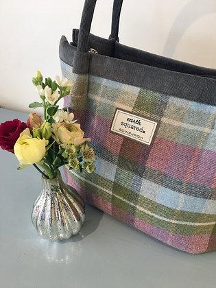 Forest Flower Tweed Freya Bag