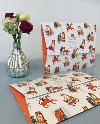 The Tiger Who Came For Tea Writing Set