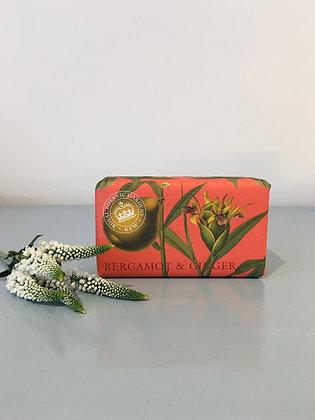 Kew Gardens Bergamot and Ginger Soap