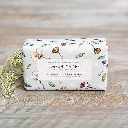 Elderflower & Cedarwood Soap Bar