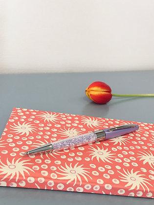 Lilac Stardust Crystal Ballpoint Pen