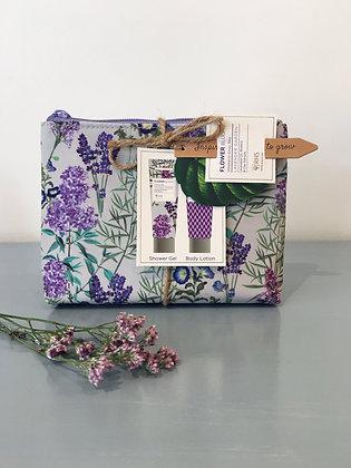 Lavender Weekend Away Bag