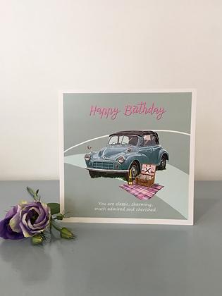 Cherished Motor – Birthday