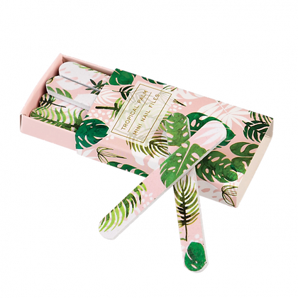 Tropical Palm Matchbox Nail Files