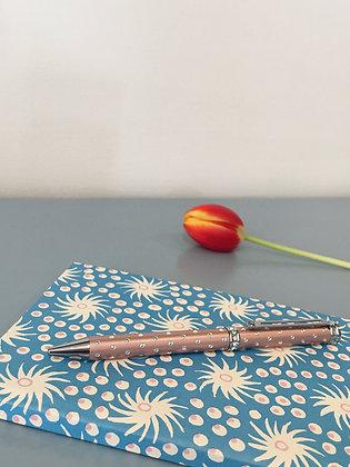 Rose Pink Crystal Ballpoint Pen