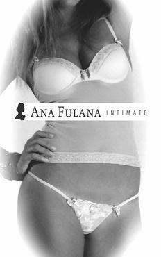 Ana Fulana Atelier camisete com bojo