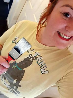 Poolie Time Girl Painter1 rgb.jpg