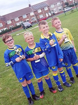 Hartlepool St Francis Trophy Boys x4 rgb