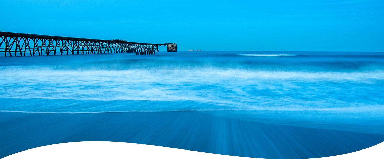 Steetley Pier Beach Blue Banner VNEW rgb