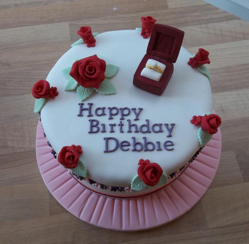 Happy Birthday Debbie Cake Pics