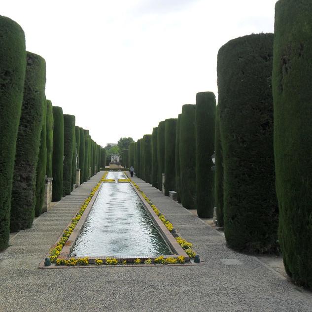 Cordoba Palace gardens.