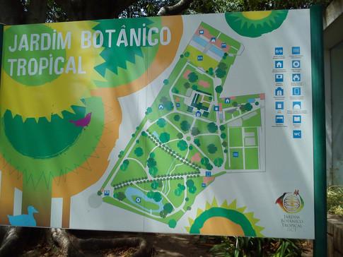 Jardin Botanico Tropical Map