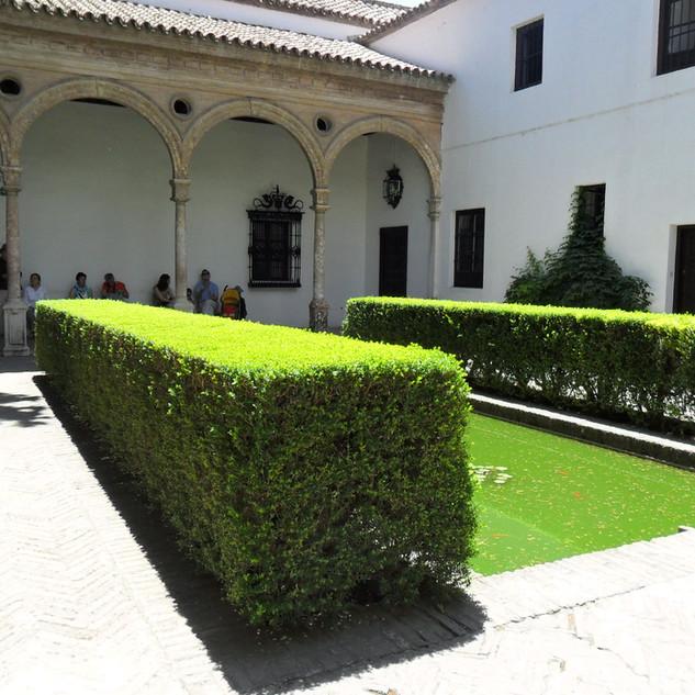 Seville. Alcazar gardens.